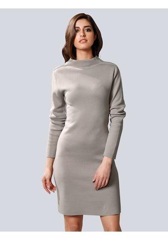 Alba Moda Strickkleid, mit modischem Stehkragen kaufen