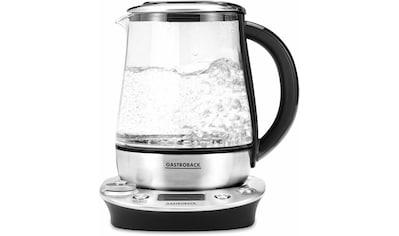 Gastroback Wasserkocher »Tea & More Advanced 42438«, 1,5 l, 1400 W kaufen