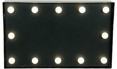 MARQUEE LIGHTS LED Dekolicht »Blackboard Schwarzes Brett«, 1 St., Warmweiß, Wandlampe,... kaufen