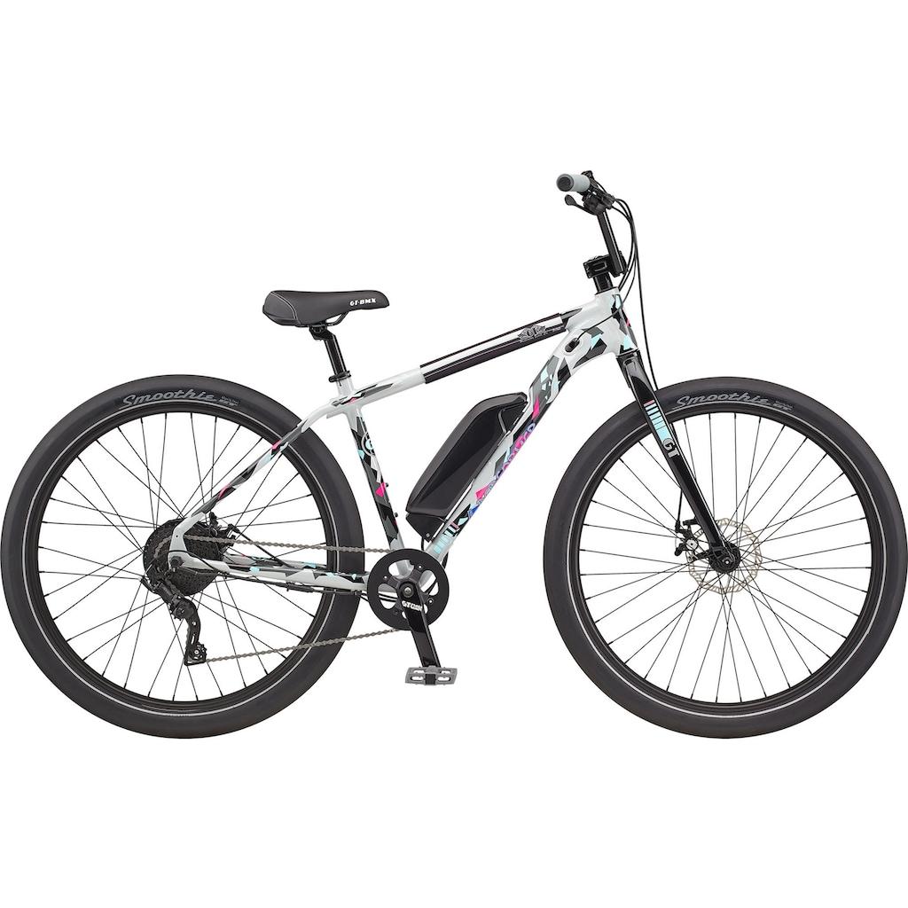 GT E-Bike, 9 Gang, microSHIFT, Advent, Heckmotor 250 W