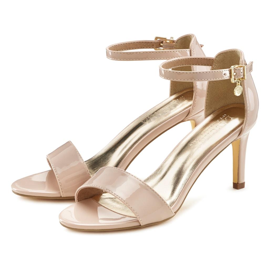 LASCANA Sandalette, im zeitlosem Design