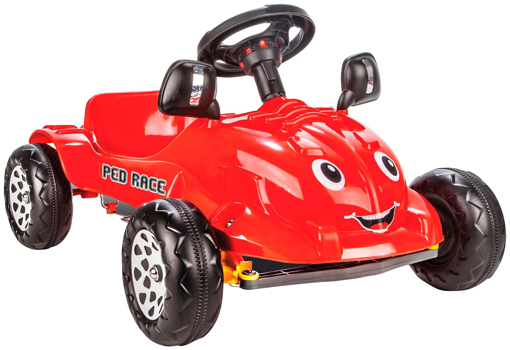 Jamara Tretfahrzeug Tretauto Ped Race rot Kinder Kettcar Kinderfahrzeuge