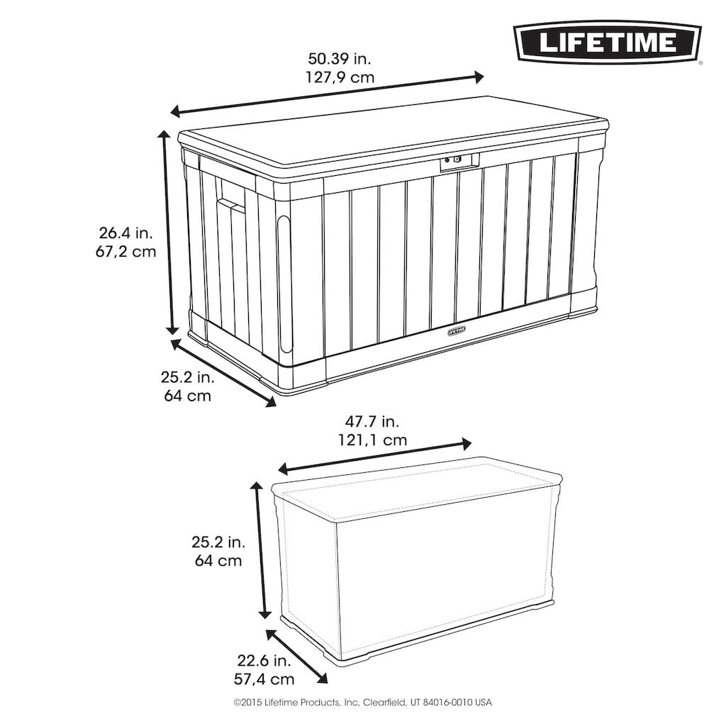 Lifetime Kissenbox »Harmony«, 440 Liter