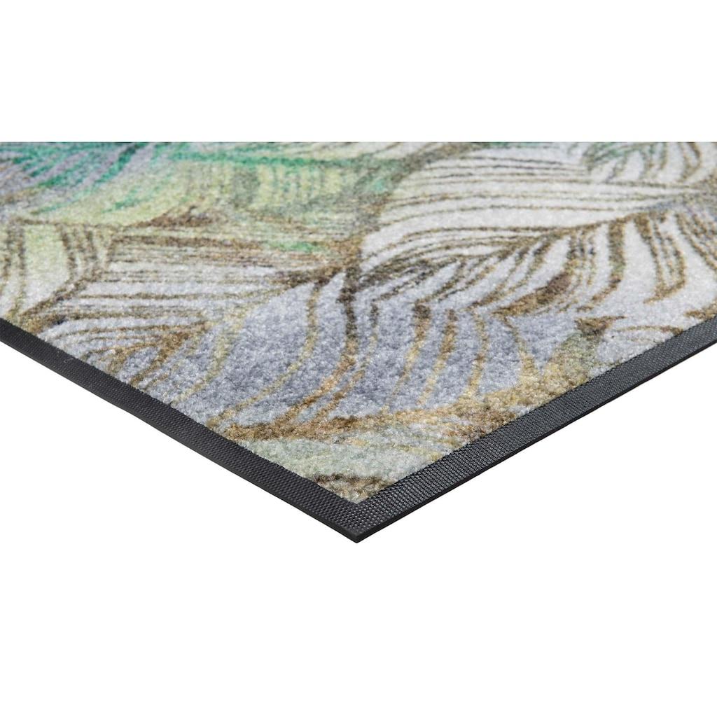 wash+dry by Kleen-Tex Fußmatte »Lapas«, rechteckig, 7 mm Höhe, Schmutzfangmatte, In- und Outddor geeignet