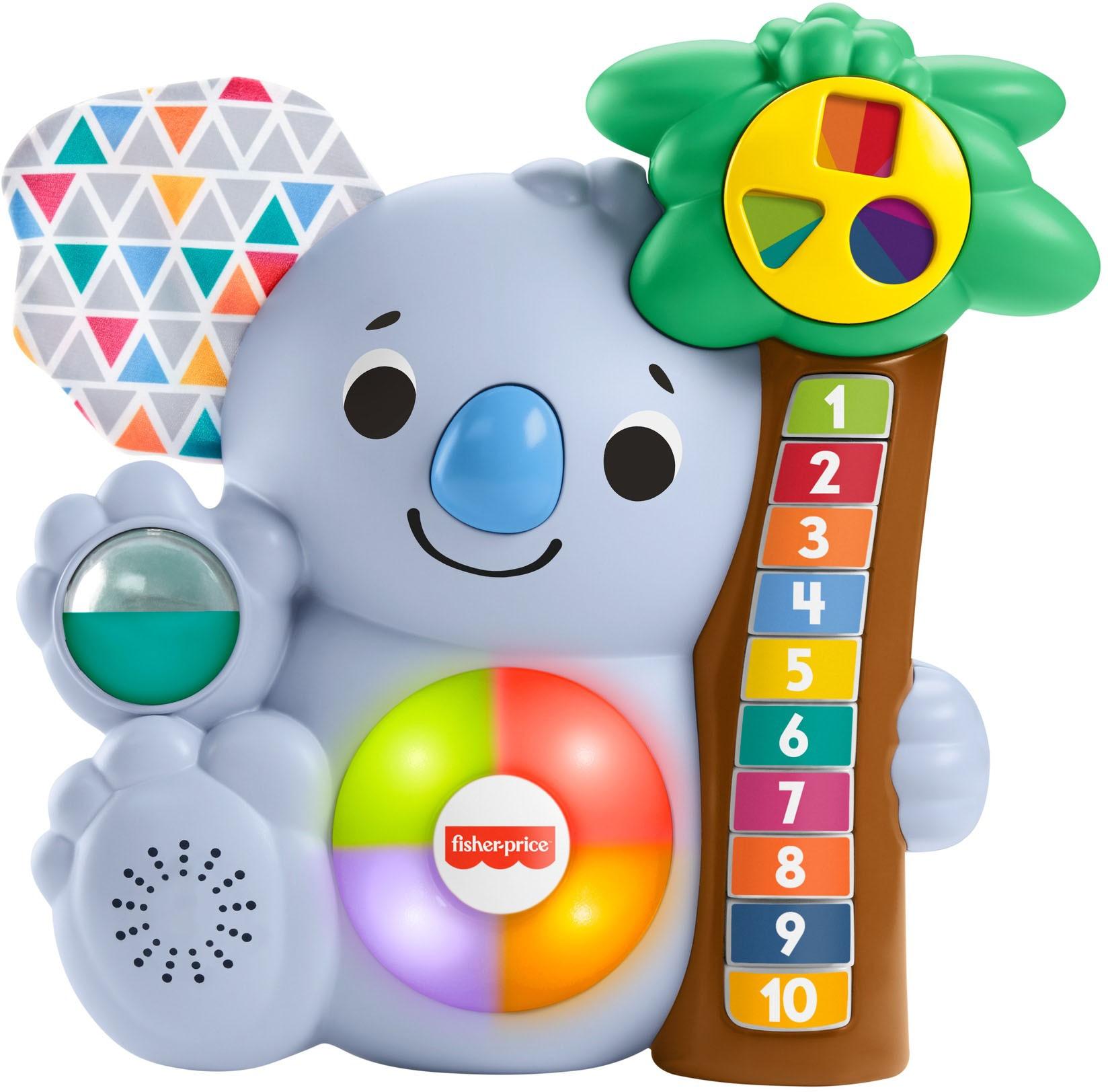 Fisher-Price Lernspielzeug, BlinkiLinkis Koala blau Kinder Lernspiele Lernspielzeug