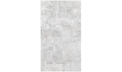 BODENMEISTER Fototapete »3d Effekt Steinoptik hell - grau«, Rolle 2,80x1,59m kaufen