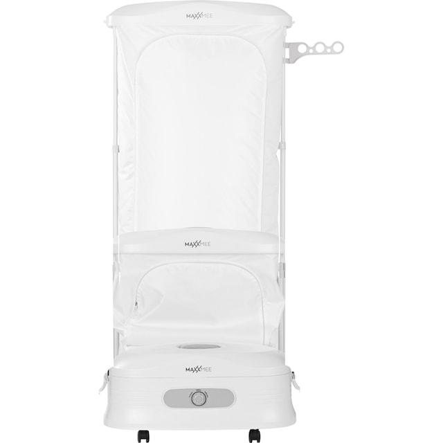 schnell trocknen 1350W wei/ß schonend gl/ätten und auffrischen mit Wasserdampf MAXXMEE W/äschepflege-Center 3-in-1 5 Hemden gleichzeitig