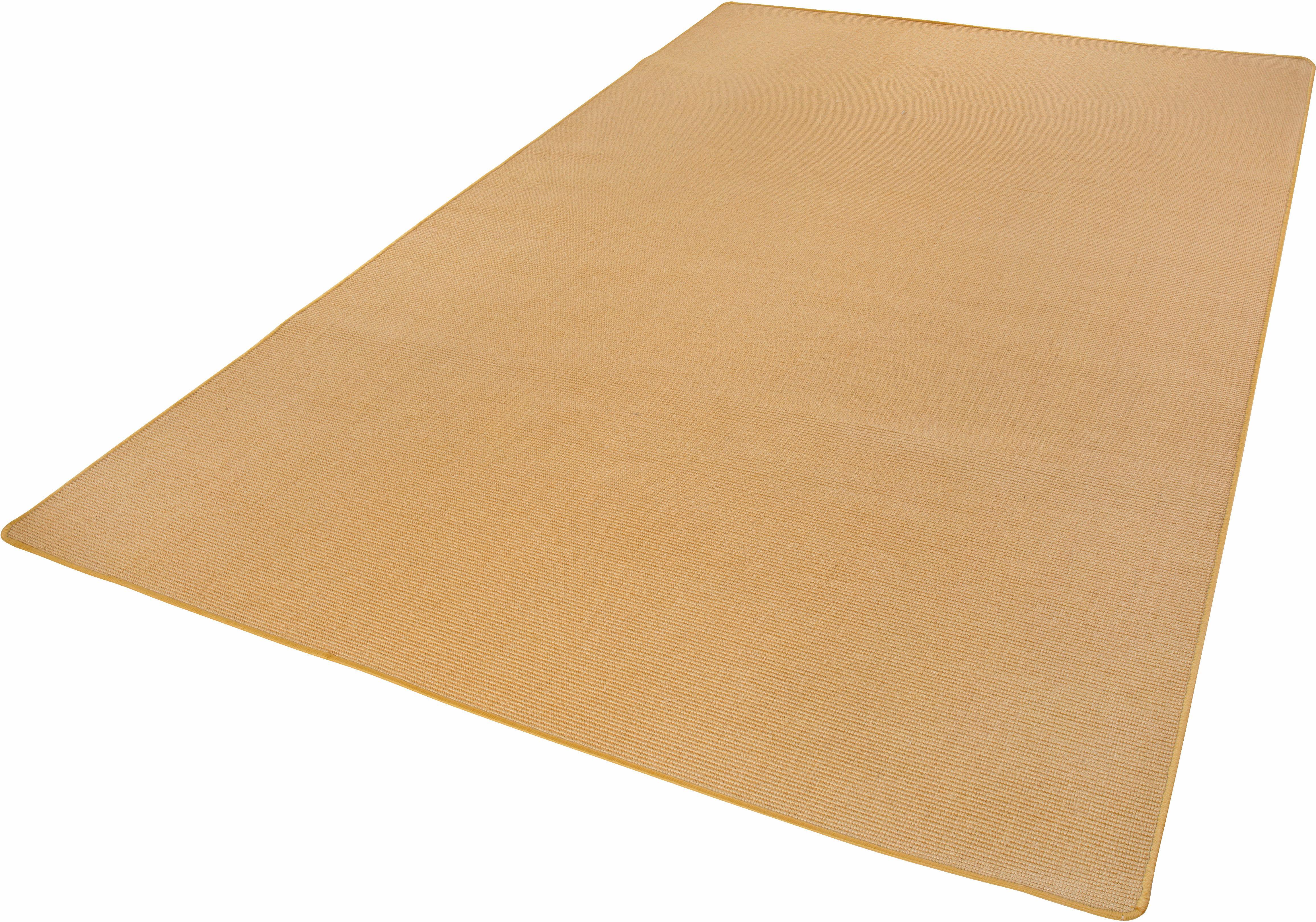 Sisalteppich Sisal Andiamo rechteckig Höhe 5 mm maschinell gewebt