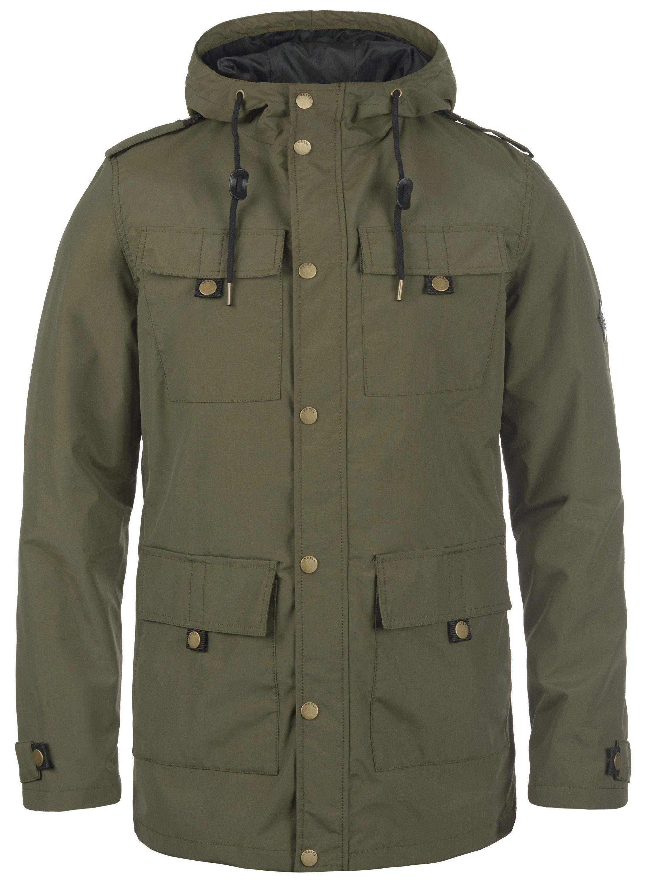REDEFINED REBEL Fieldjacket Moe | Bekleidung > Jacken > Fieldjackets | Grün | Redefined Rebel