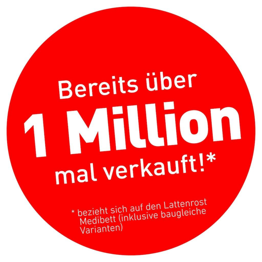 BeCo EXCLUSIV Lattenrost »Medibett«, (1 St.), der Millionen-Topseller, mit Kopf- und Härteverstellung