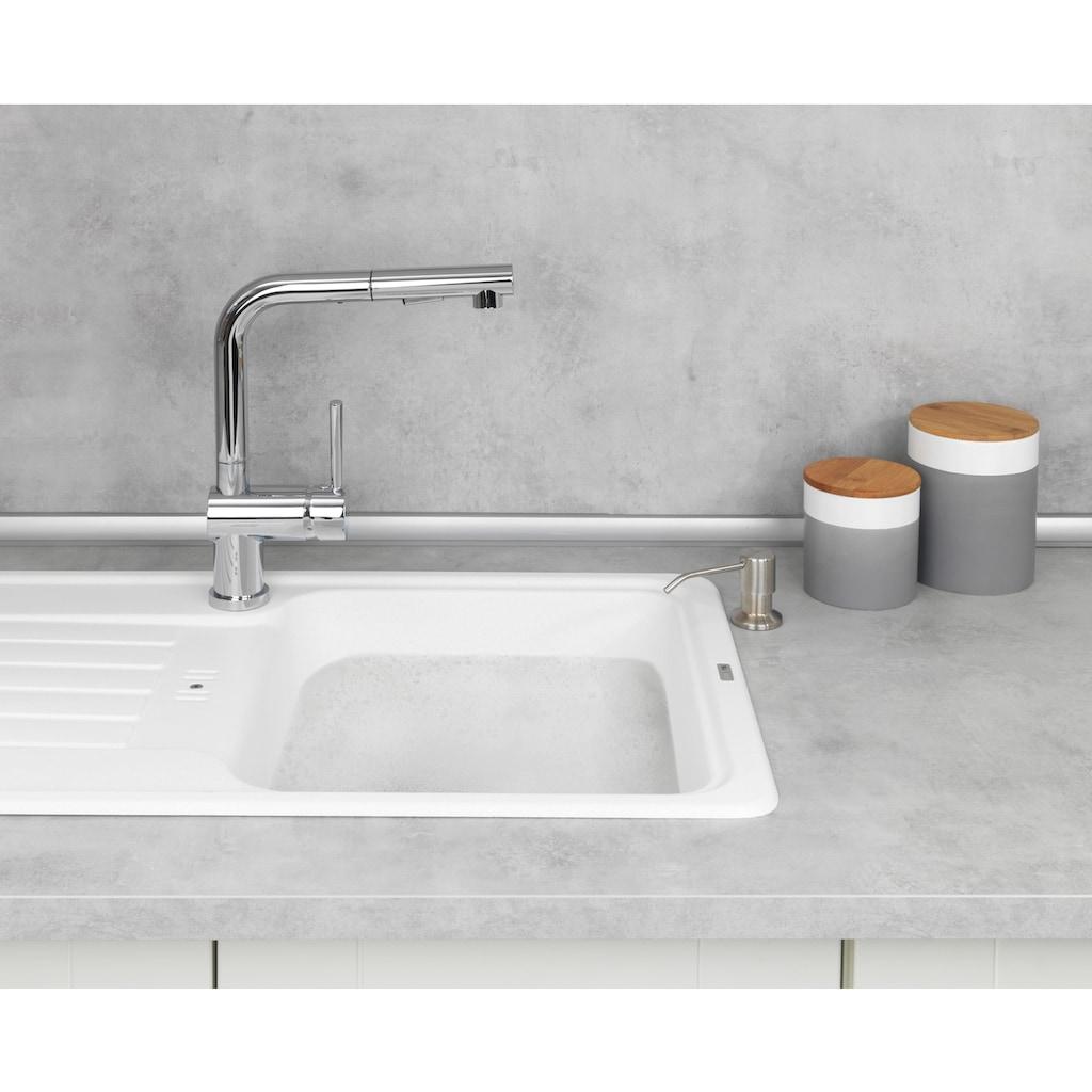 WENKO Seifenspender »Monti«, Einbau Seifen- und Spülmittelspender
