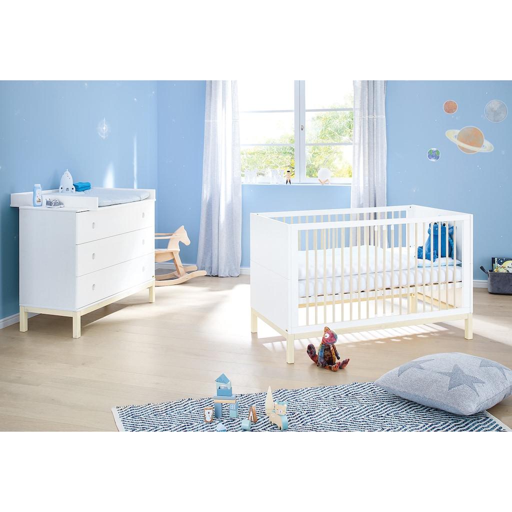 Pinolino® Babybett »Skadi«, Made in Europe, FSC®-Holz aus gewissenhaft bewirtschafteten Wäldern