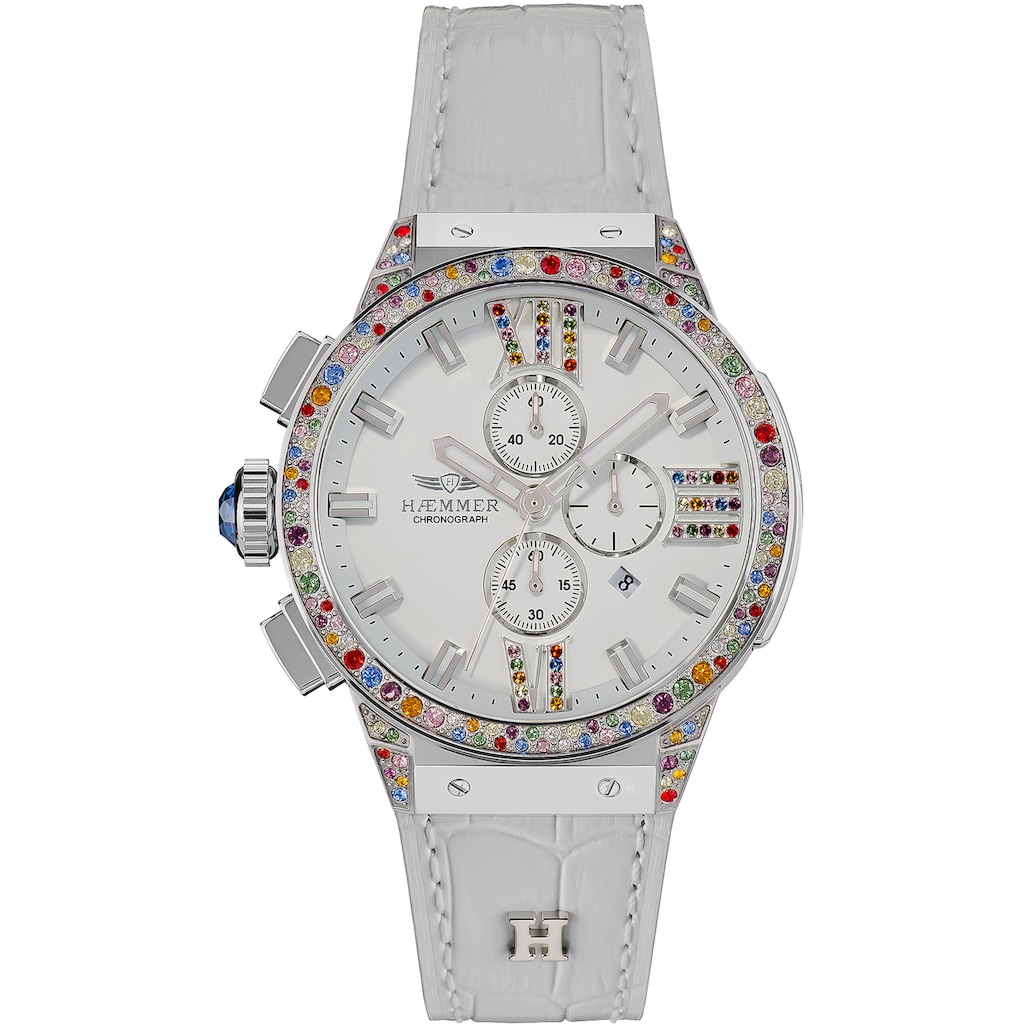 HAEMMER GERMANY Chronograph »WHITE SWAN, E-006«