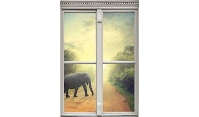 queence Wandsticker »Elefant« kaufen