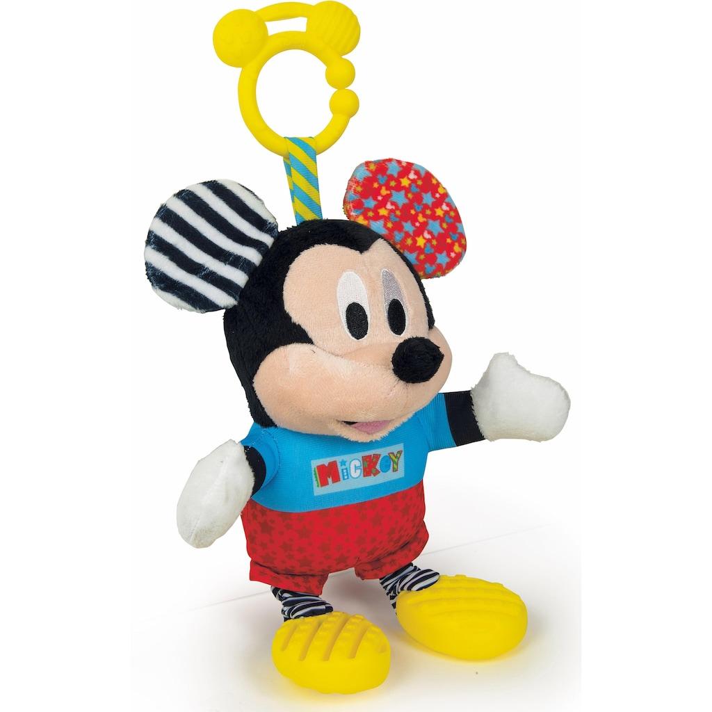 Clementoni® Plüschfigur »Disney Baby, Plüsch Mickey mit Beißring«