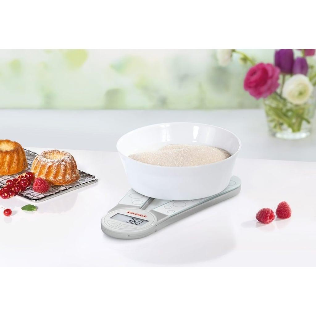 Soehnle Küchenwaage »Genio - weiß«, (1 tlg.)
