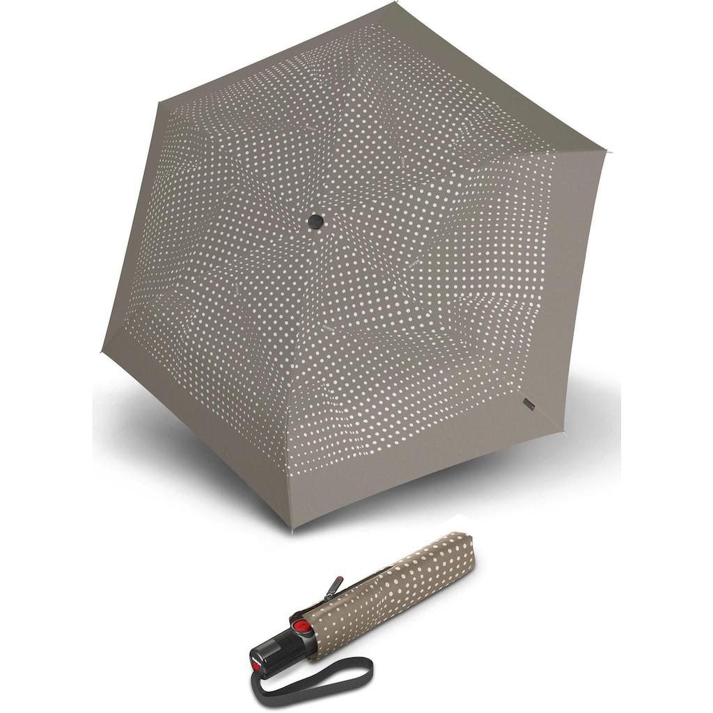 Knirps® Taschenregenschirm »TS.200 Slim Medium Duomatic bolero taupe«