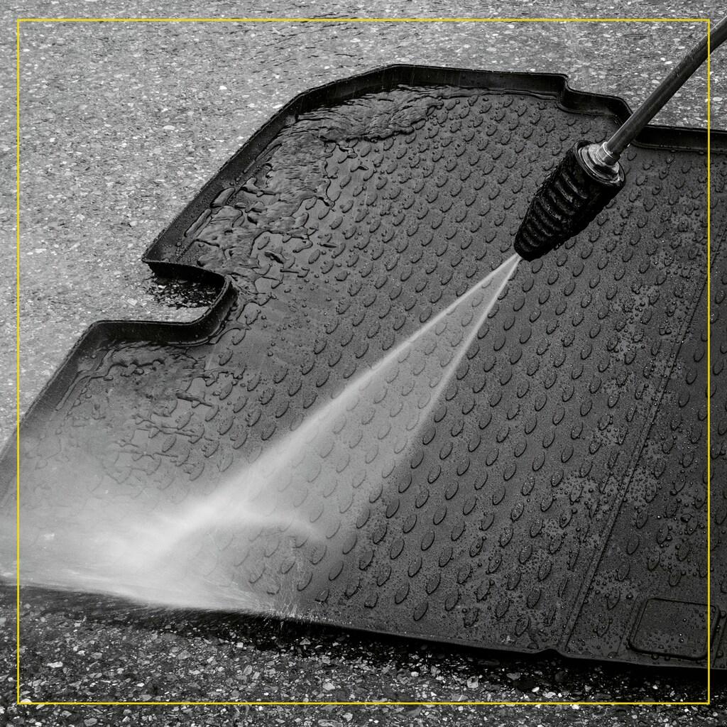 WALSER Passform-Fußmatten »XTR«, BMW, 3, Stufenheck, (4 St., 2 Vordermatten, 2 Rückmatten), für BMW 3er (F30) BJ 2011 - 2018