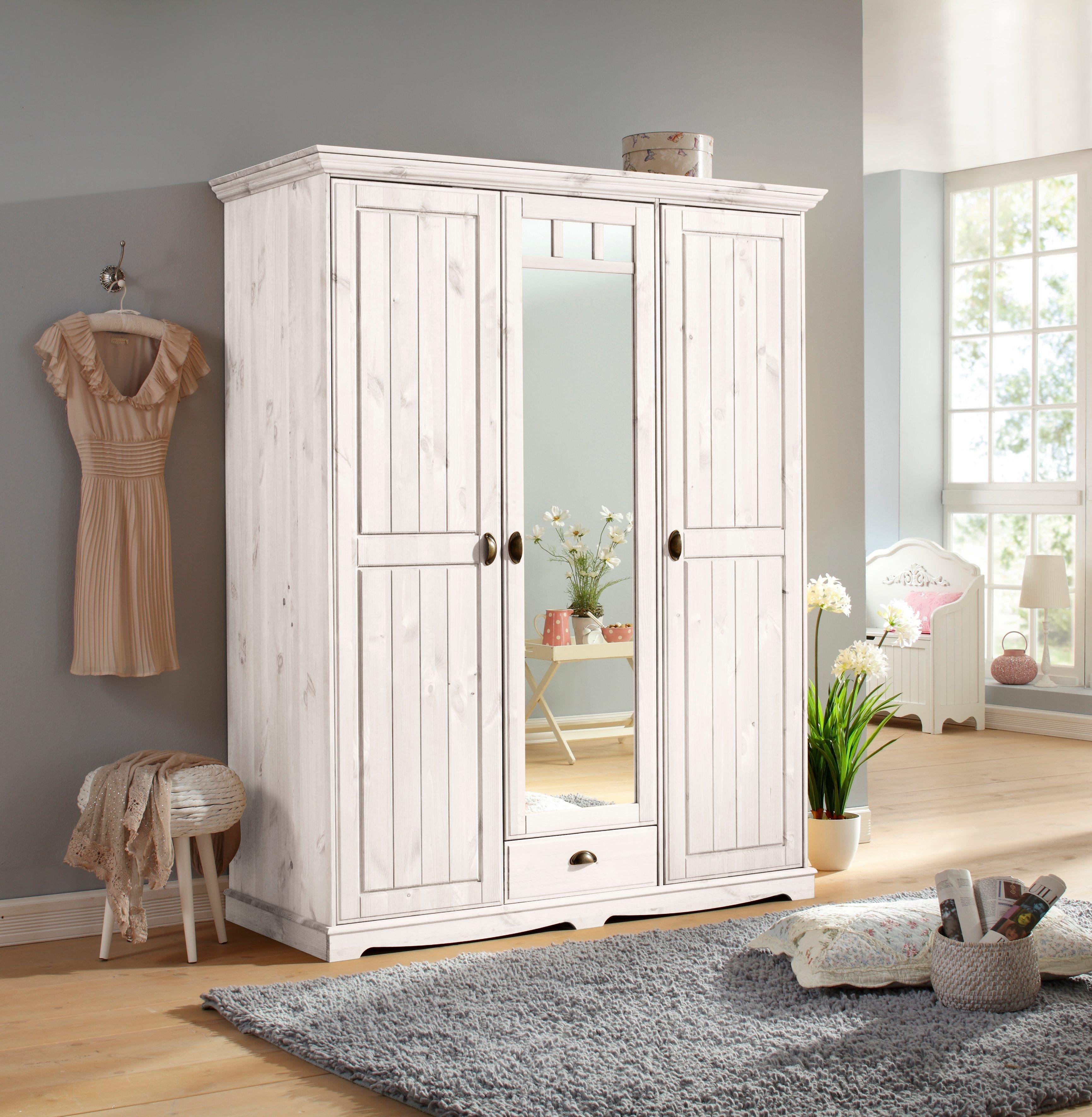 Home affaire Kleiderschrank »Claudia« kaufen   BAUR