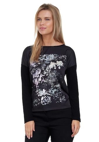 Decay Langarmshirt, mit dekorativen Kaktusblumen kaufen