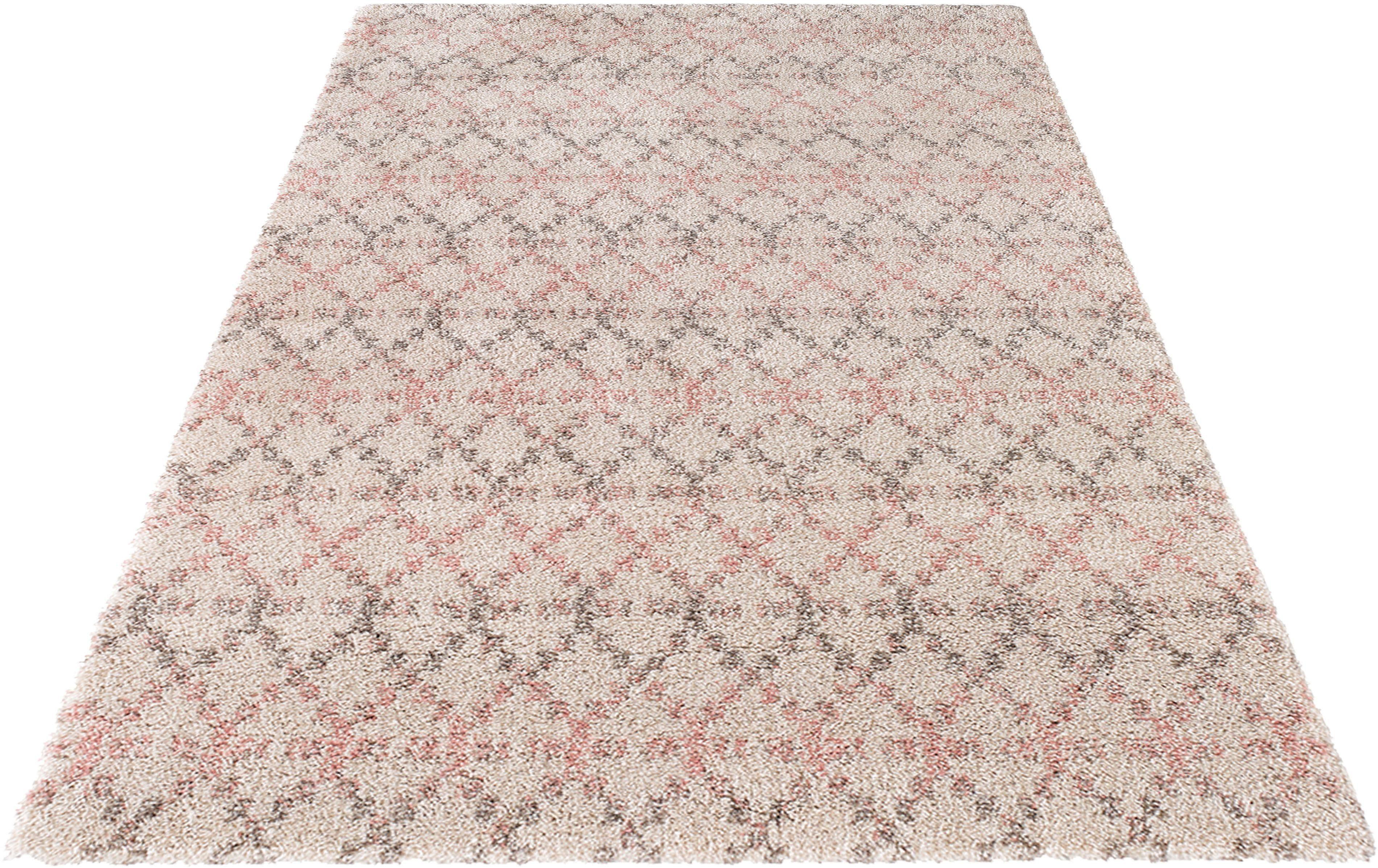 Hochflor-Teppich Cameo MINT RUGS rechteckig Höhe 35 mm