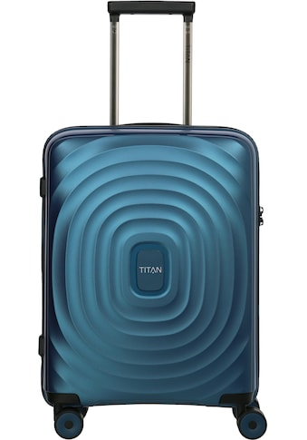 """TITAN® Hartschalen - Trolley """"Looping, 55 cm, Petrol"""", 4 Rollen kaufen"""