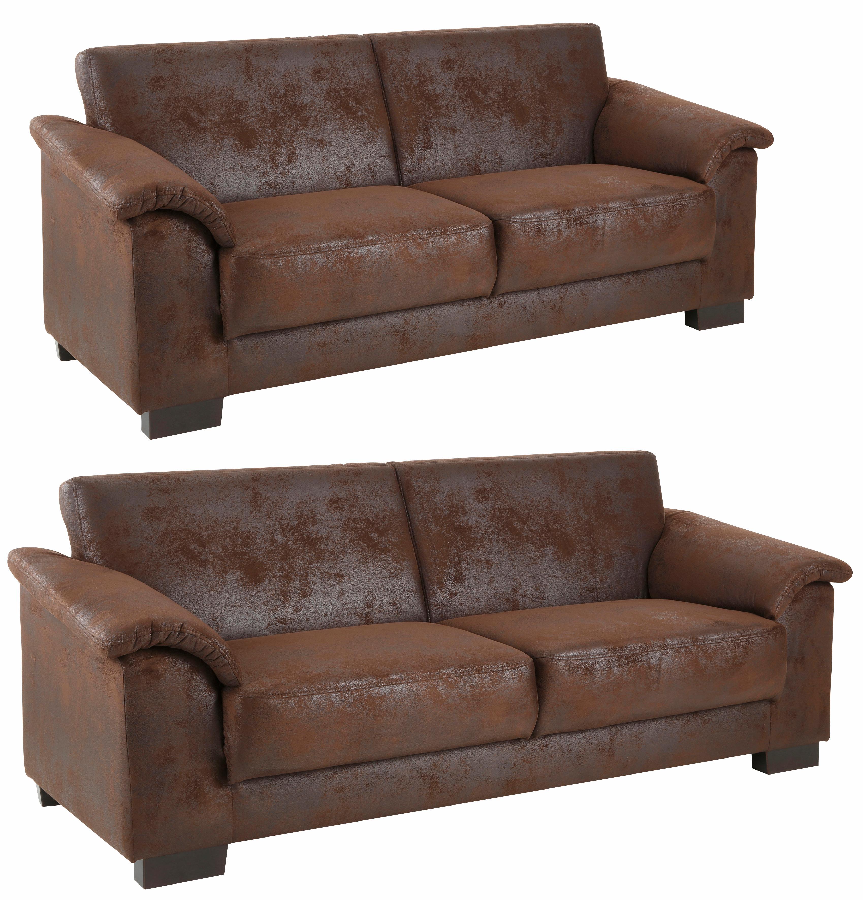 Home affaire Set »Anna«, 2-Sitzer und 3-Sitzer | Wohnzimmer > Sofas & Couches > Garnituren | HOME AFFAIRE