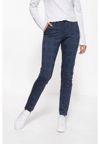 ATT Jeans Stretch-Hose »Sophie«, mit Karomuster kaufen
