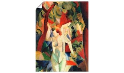 Artland Wandbild »Badende Frauen 1913« kaufen