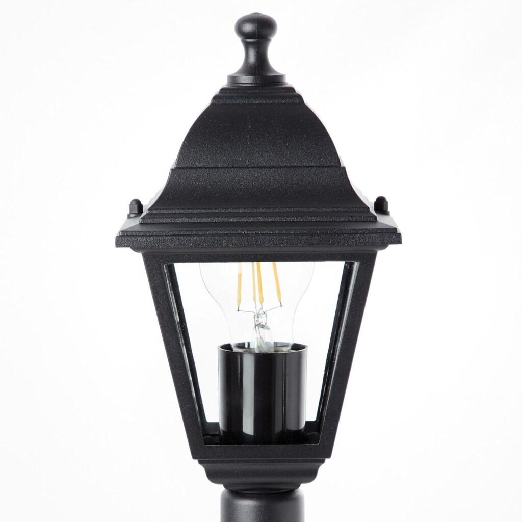 Brilliant Leuchten Außen-Stehlampe, E27, Nissie Außenstandleuchte schwarz