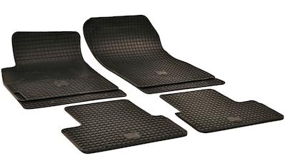 Walser Passform-Fußmatten, Chevrolet-Opel, Astra J-Astra J GTC-Cruze-Orlando-Zafira C Tourer, Großr.lim.-Kombi-Schrägheck-Stufenheck, (4 St., 2 Vordermatten, 2 Rückmatten), für Opel Astra J und Opel Zafira C kaufen