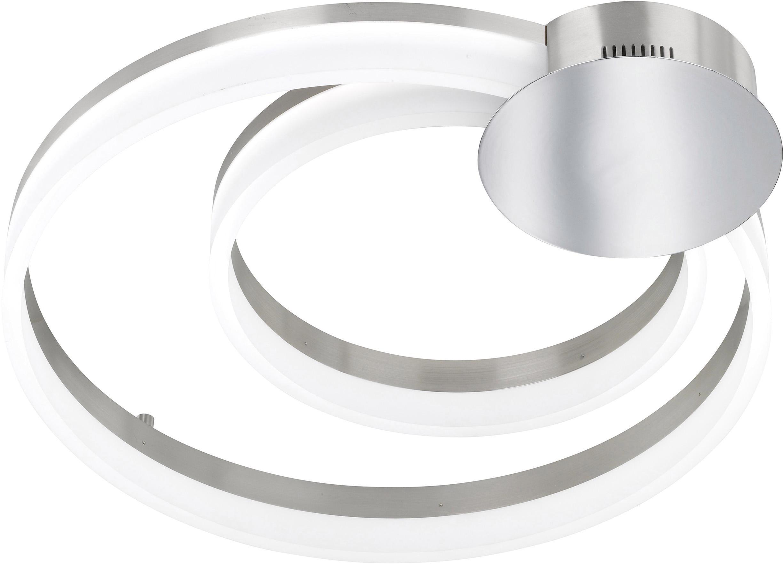 WOFI LED Deckenleuchte SOUL, LED-Board, Warmweiß, LED Deckenlampe