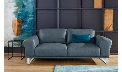 W.SCHILLIG 2,5-Sitzer »montanaa«, mit Metallkufen in Chrom glänzend, Breite 212 cm kaufen