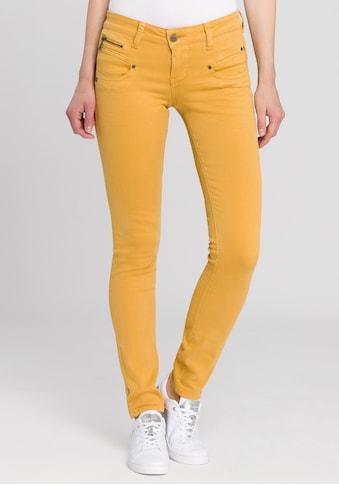 Freeman T. Porter Slim-fit-Jeans »Alexa«, mit vielen Dekor-Elementen kaufen