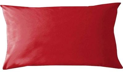damai Kissenbezüge »Pure Uni«, (2 St.), in großer Farbauswahl kaufen