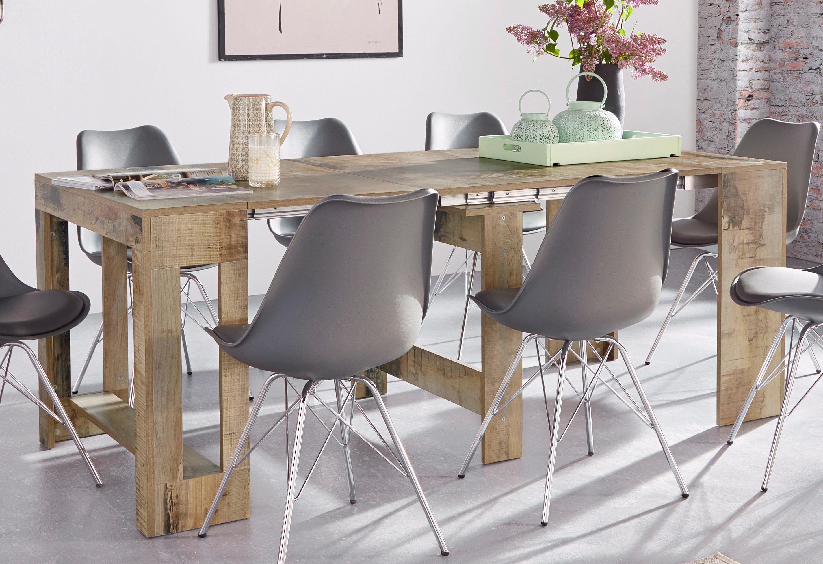 Tecnos Esstisch Praktika, ausziehbar auf 300 cm beige Ausziehbare Esstische Tische