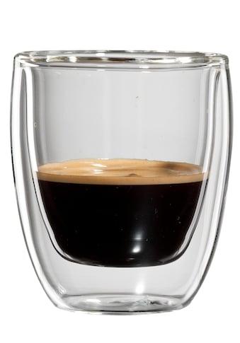 Bloomix Espressoglas »Roma«, (Set, 4 tlg.), Doppelwandig kaufen