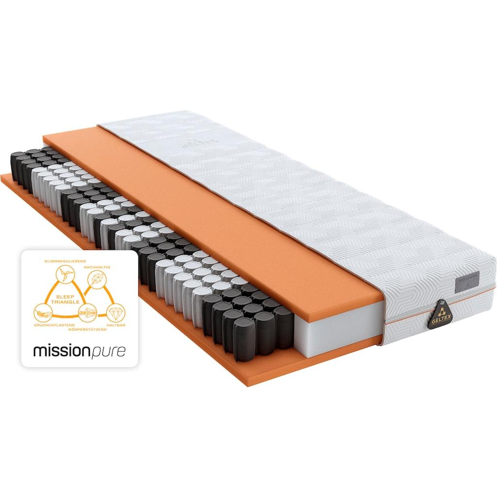 Schlaraffia Taschenfederkernmatratze »GELTEX® Quantum Pure 200 TFK«, 434 Federn, (1 St.), nachhaltig & wunderbarer Schlafkomfort!