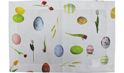 Platzset, »32668 Pasqua«, HOSSNER  -  HOMECOLLECTION (Set, 4 - tlg.) kaufen