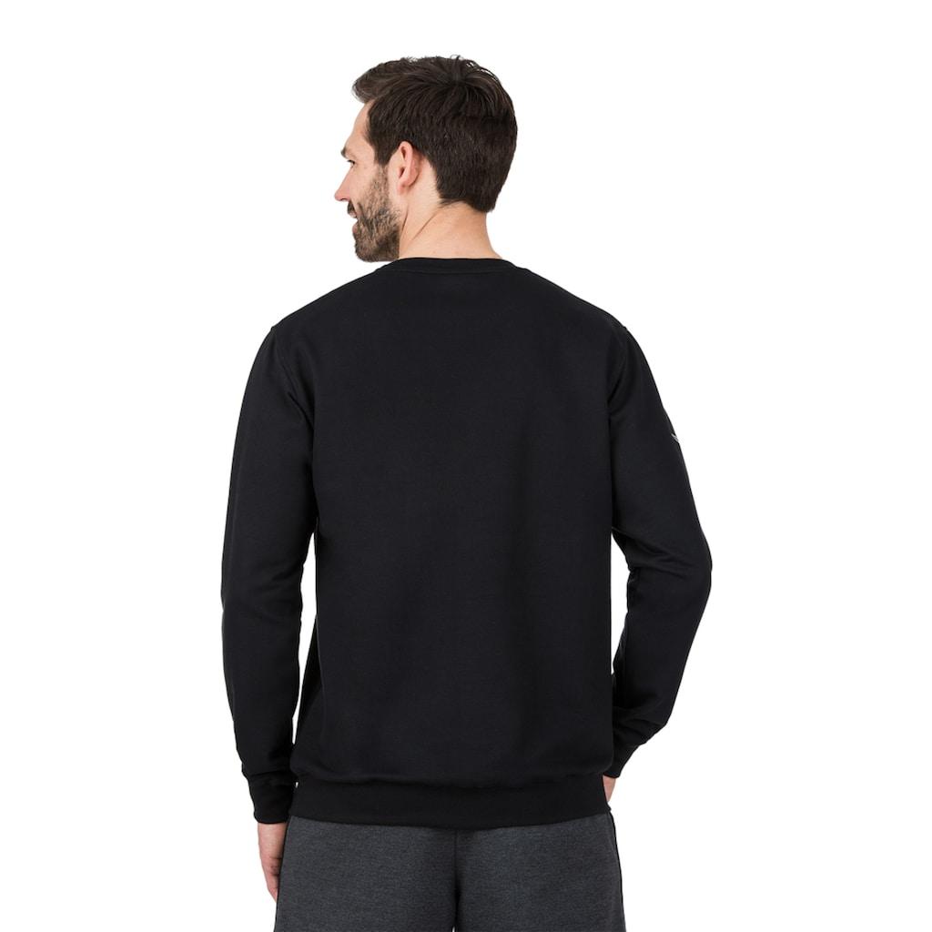 Trigema Sweatshirt, aus Biobaumwolle