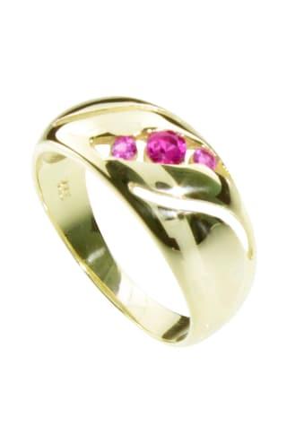 OSTSEE-SCHMUCK Fingerring »- Pina - Gold 333/000 - sy. Rubin«, (1 tlg.) kaufen
