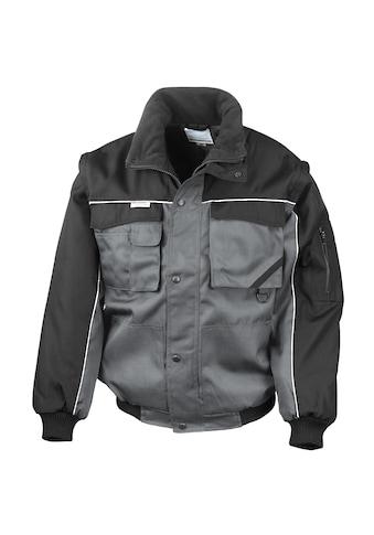 Result Funktionsjacke »Herren Arbeitsjacke mit Reißverschlüssen am Ärmel,... kaufen
