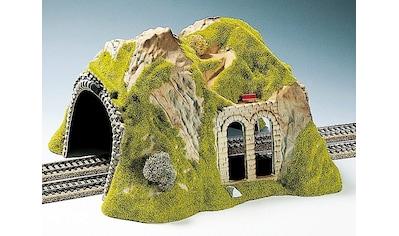 NOCH Modelleisenbahn-Tunnel »Tunnel 2-gleisig, gerade«, Made in Germany kaufen