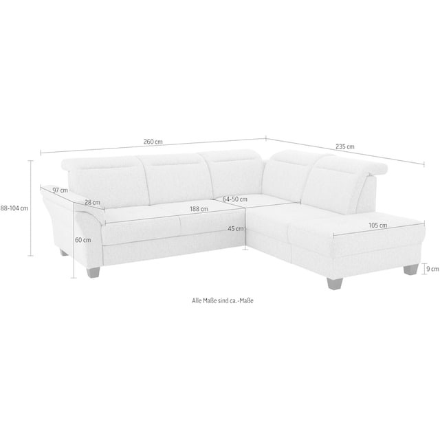 Premium collection by Home affaire Ecksofa »Solvei«