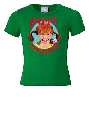 LOGOSHIRT T - Shirt mit coolem Pippi Langstrumpf - Print kaufen