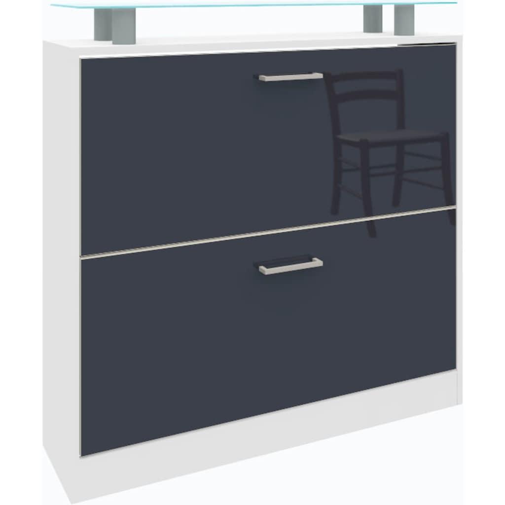 borchardt Möbel Schuhschrank »Finn«, Breite 89 cm, mit Glasablage