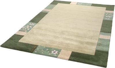 THEKO Wollteppich »Royal Ganges«, rechteckig, 13 mm Höhe, reine Wolle, mit Bordüre,... kaufen