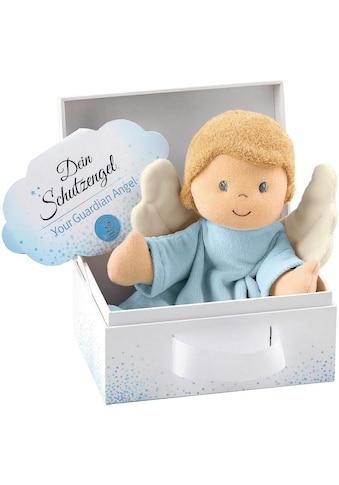 Sterntaler® Schmusetuch »Schutzengel, hellblau«, mit Geschenkbox kaufen