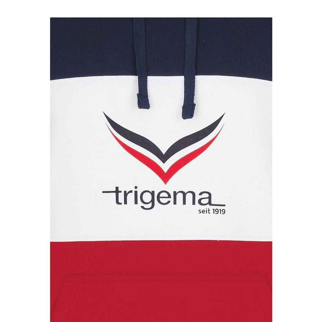 Trigema Jogginganzug, mit modischem Kapuzenshirt