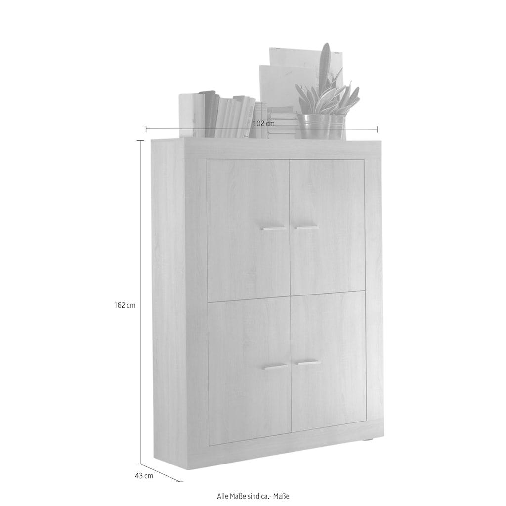 LC Highboard »Rustica«, Breite 162 cm